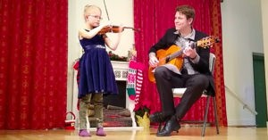 coaching your child in music is a delicate but beautiful thing